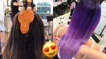Яркий БАЛАЯЖ / Омбре / Шатуш. Цветное окрашивание волос