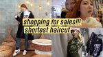 Shopping for Huge Sales!! Shortest Haircut Since 2012 OMG | Q2HAN
