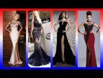Модные вечерние платья 2018 новинки длинные