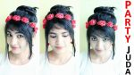 Party Juda Hairstyle   Best and Easy Juda Hairstyle   Bridal Bun hair style   Juda Hairstyle