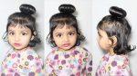Kids juda hairstyle in 2 minute | Bridal Bun | Bridal Bun hairstyle | kids hairstyle | hairstyle