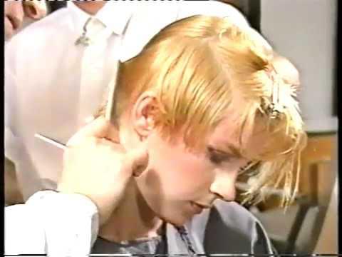 Редкое  Видео для парикмахеров, стрижка «5 Точек» Видал Сассун
