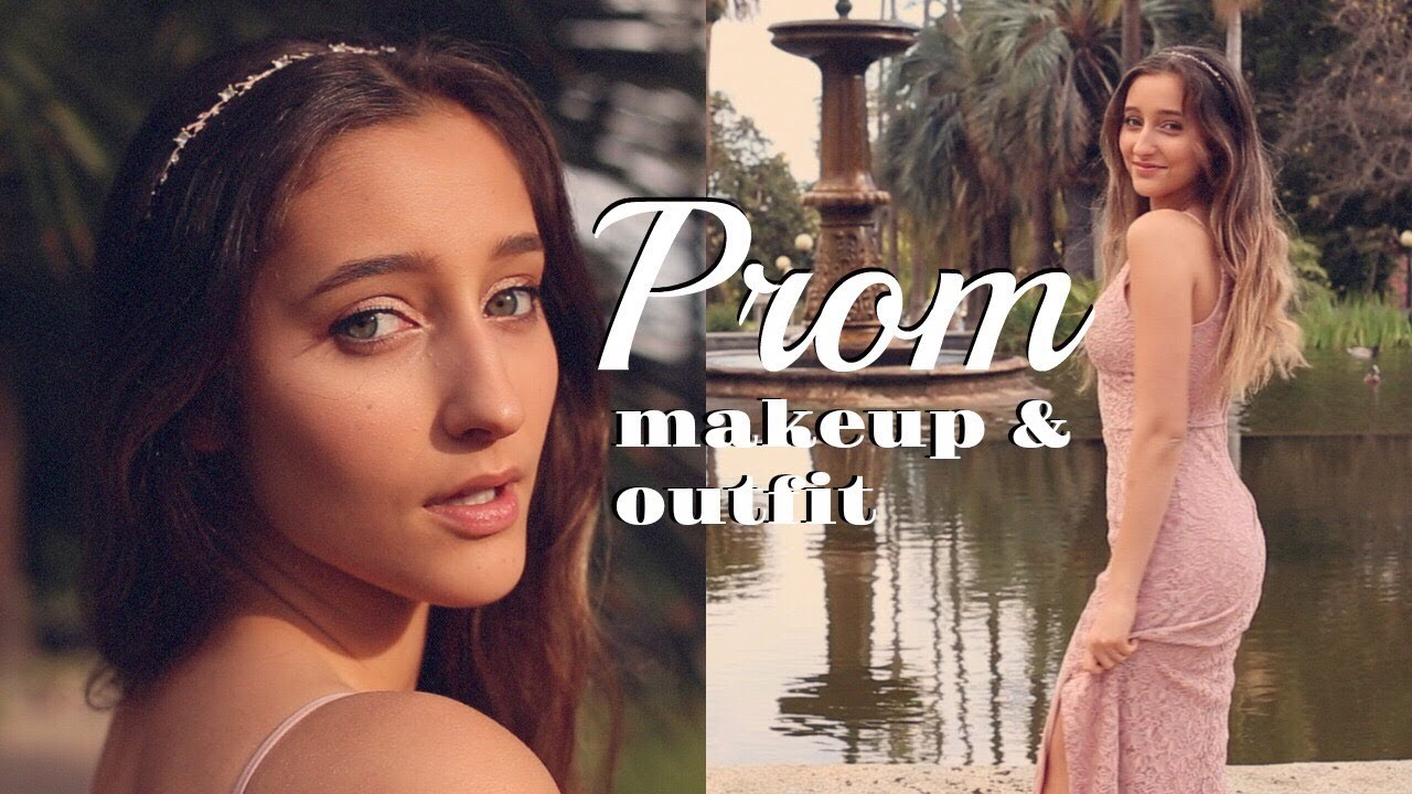 PROM Get Ready With Me: Makeup & Outfit 2018