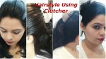 Easy ,quick hairstyle using clutcher..|hair style for short hair..