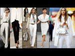 МОДА 2018 для ВСЕХ!  ЖЕНЩИНА В БЕЛОМ  Роскошная женщина  Luxury Fashion Woman in white