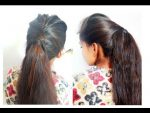 Hair style Girl how to long ponytail with puff easy hairstyle new ponytail fancy ponytails