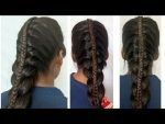 Hair style Girl Franch hairstyles fancy new hairstyles School girl hairstyle