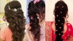 Engagement Hairstyle || Beautiful Different Hairstyle For girls Collection || Hairstyle Images 2018