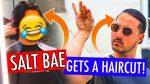 SALT BAE GETS A HAIRCUT! — Men's Long Hair Styling