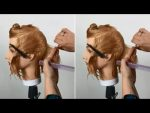 How to cut a Creative Bob Haircut step by step — Short creative haircut
