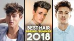5 BEST Spring/Summer Men's Hair Trends 2018 | BluMaan