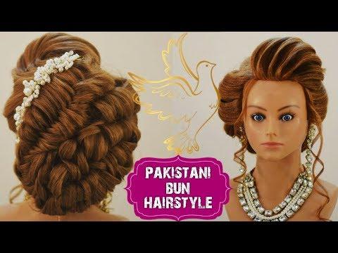pakistani bun hairstyle || bun hairstyle || best bun hairstyle || advance bun hairstyle || easy bun