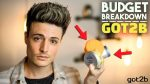 Is Got2B Any Good? | Budget Breakdown | Men's Hair Products | BluMaan 2018