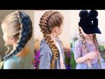 11 Cute Little Girl's Hairstyle Tutorials ❀ Viral Hairstyles For Kids