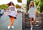 Как выбрать женские платья и кроссовки