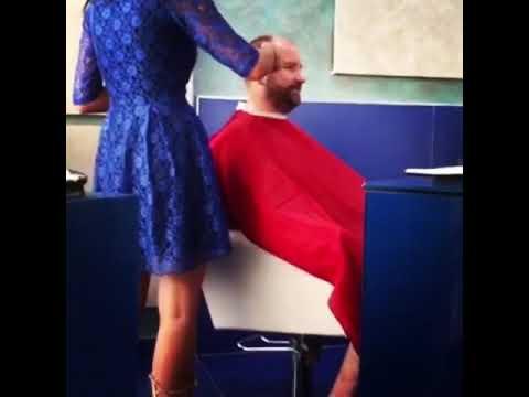Стрижка головы-бороды. Меня постигал Персей