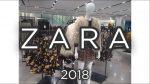ZARA. Одежда с примеркой 2018. Shopping. Autumn