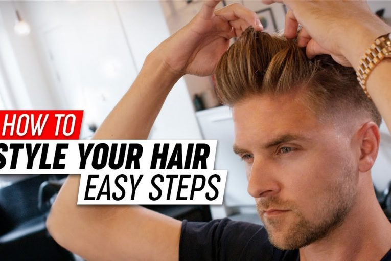 How To Style your Hair | Mens Hairstyle Tutorial | SlikhaarTV