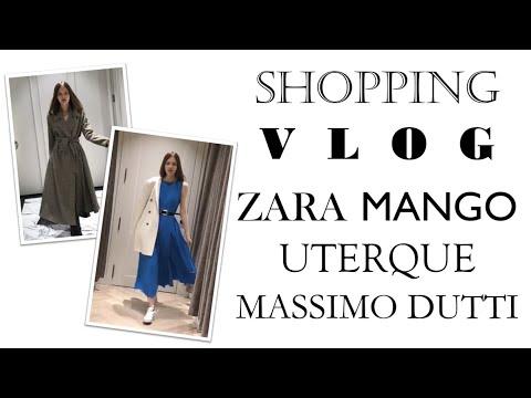 Shopping vlog: Massimo Dutti, Uterque, Mango, Zara // Тренды осени 2018