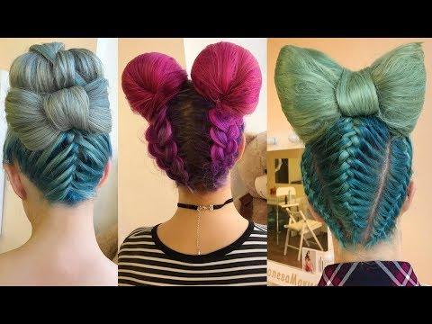 Hermosos Peinados Tutorial Moda 2018 — Beautiful Hairstyles Compilation 2018