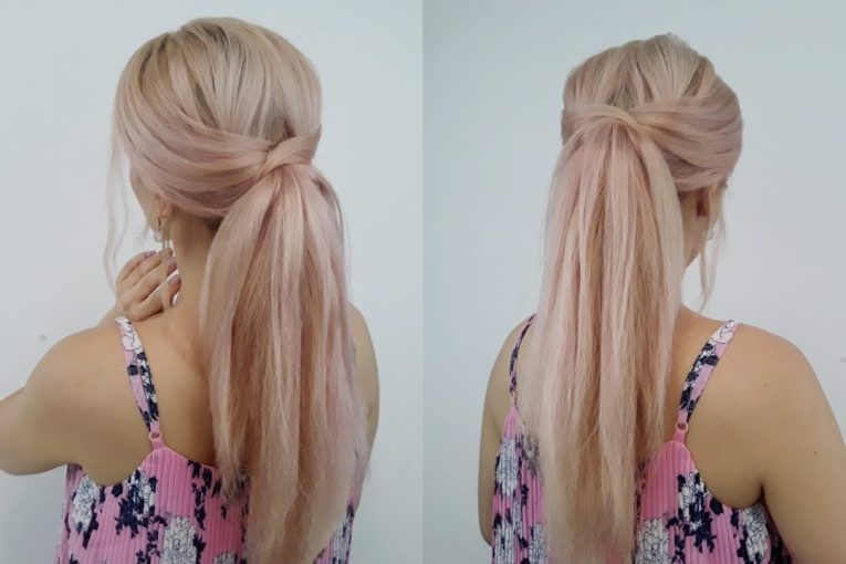 QUICK AND EASY HAIRSTYLE ELEGANT PONYTAIL| Awesome Hairstyles ✔