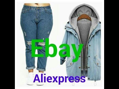 ALIEXPRESS/ ebay /ДЖИНСОВАЯ КУРТКА,ДЖИНСЫ С ДЫРКАМИ/2 часть май 2017