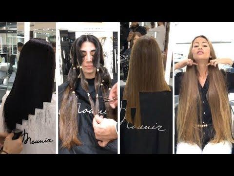 Экстремальные Длинные Стрижки Волос/Длинные и Красивые Волосы, но Они Их Обстригают