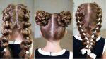 Прически на 1 Сентября! — 3 Good looking hairstyles for school!