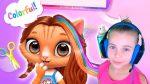 Играем в парикмахерскую Игры для девочек про прически