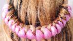 Быстрая и красивая прическа с канекалоном на длинные волосы. QUICK AND EASY HAIRSTYLES for long hair