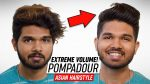Indian Hair EXTREME Transformation! | Pompadour Mens Hairstyle | SlikhaarTV