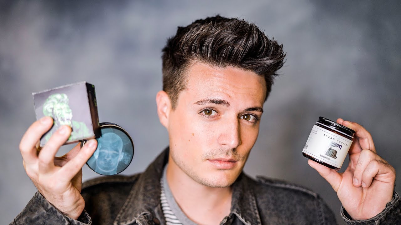 Mens Short Hairstyle Tips   BEST Hair Products for Short Hair
