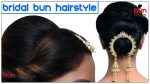 Easy Messy Bun Hairstyle | Messy Bun | Juda Hairstyle | Bridal Bun Hairstyles