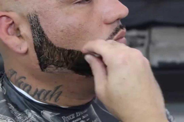 Как красиво оформить Бороду!  How to make beautiful Beard!