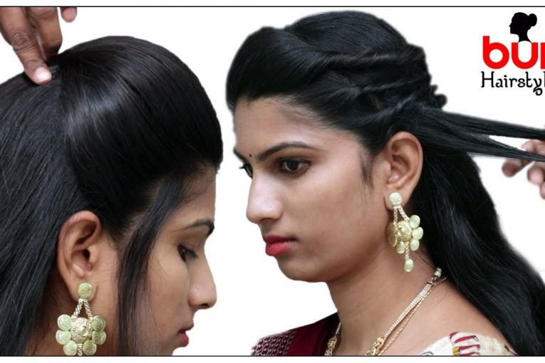 Top Stylish Hairstyles For Sarees Every Woman Should Try | Bun Hairstyles