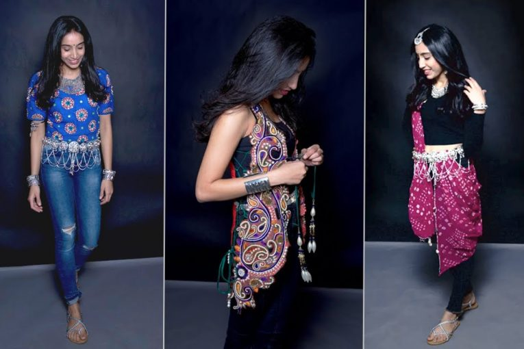 5 Navratri Looks With Jeans | Ethnic Fashion | Navratri 2017 Special | Glamrs