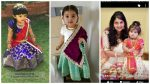 Stylish Little Girls Traditional Dresses Designs