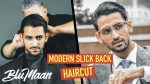 Mens Haircut & Hairstyle | Celebrity Inspired Classic Slick Back