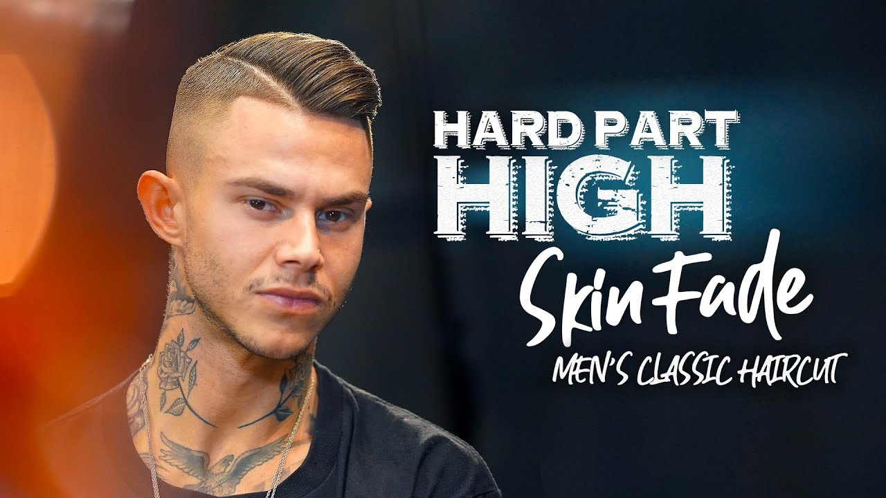 High fade. Hard part. Men´s hairstyle inspiration
