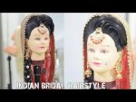how to do bridal choti hairstyle || indian bridal juda bun ।। step by step bridal hairdo tutorial