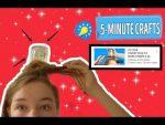 ЛЕГКИЕ ПРИЧЕСКИ ЗА 1 МИНУТУ/ 5 MINUTE CRAFTS 25 cool hairstyles