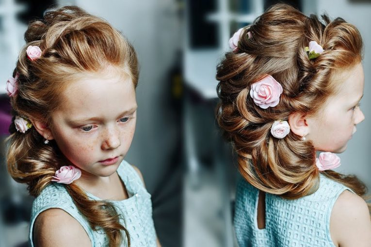 How to make chic hairstyle for a very active girl