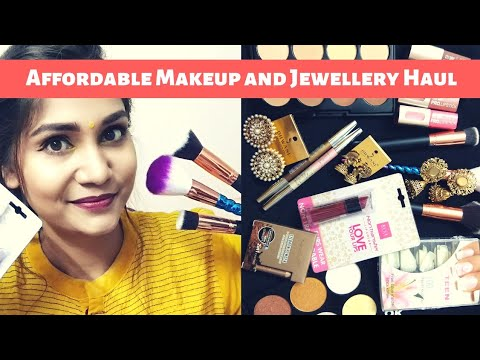 What's New in Affordable? Affordable Makeup & Accessories Haul | Under Rs. 300 | Nidhi Katiyar