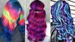 Топ Удивительное Окрашивание Волос — Яркие волосы. Фиолетовые / Розовые / Синие / Зеленые