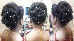 Indian bridal hairstyle for long hair || Bengali bridal hairstyle || Indian bun hairstyles