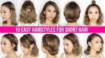 10 Easy Ways To Style Short Hair & Long Bob — Tina Yong