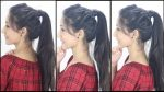 Latest Ponytail Hairstyle For School, College, Work | Hairstyles of 2019