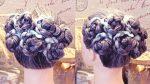 Причёска «7 ромашек» | Авторские причёски | Лена Роговая | Hairstyles by REM | Copyright ©