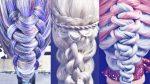 Необычные косы и плетения волос | Hairstyles by REM | Copyright ©