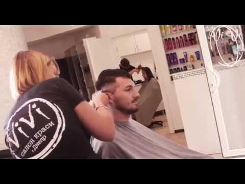 Мужская мода. Мужская стрижка. Men's haircut